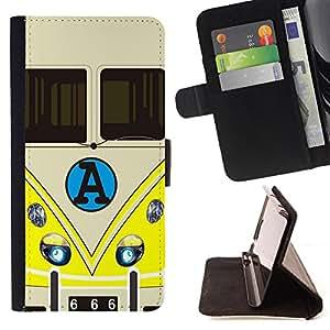 King Case - FOR HTC One M7 - Believe in yourself - Prima caja de la PU billetera de cuero con ranuras para tarjetas, efectivo Compartimiento desmontable y correa para la mu?eca