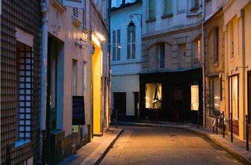 Paris Street, Near the Rue Buci by
