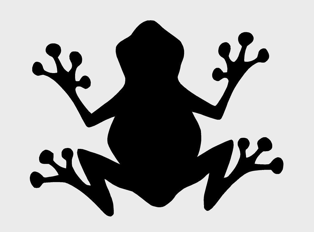 Frosch (A4) Airbrush, Wand-Kunst, aus Mylar, Schablone, wiederverwendbar, 125µm 125µm cfsupplies