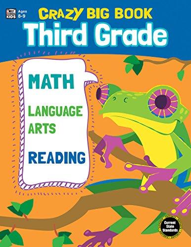 Crazy Big Book, Grade 3 by Carson-Dellosa