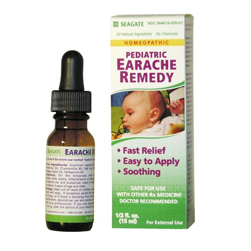 Seagate Pediatric Earache Remedy, .5-Ounce Boxes (Pack of 2)