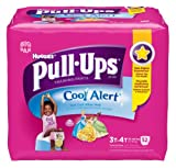 Health & Personal Care : Huggies Pull-Ups Training Pants with Cool Alert, Girls, 3T-4T, 52 Count