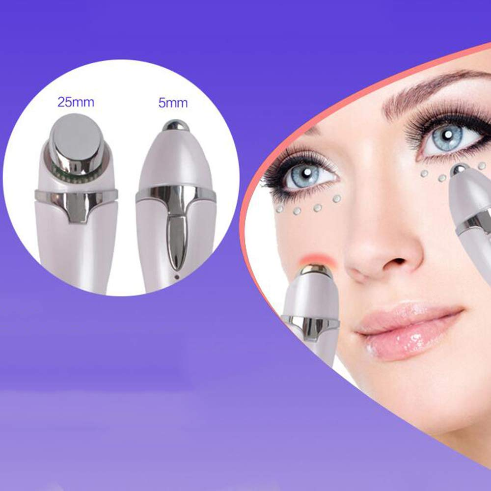 FLy Instrumento De La Belleza del Masajeador Ojo, Anti-Arrugas Anti-Envejecimiento Ojo Masajeador del Varita Mágica De Vibración Calentador De Ojos Herramienta De Cuidado, USB d8dd7b