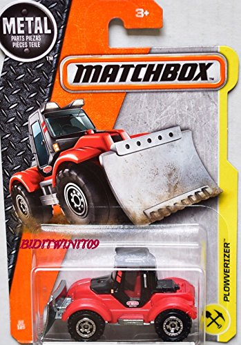 MATCHBOX 2017 METAL PARTS PIEZAS PLOWVERIZER ( plow truck ) 52/125 (Mini Snowplow)