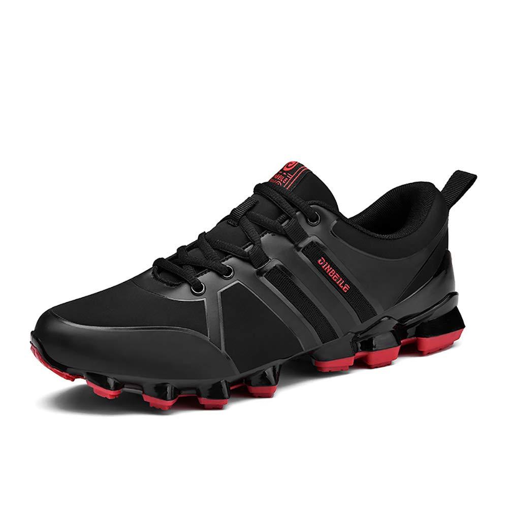 ETYGYH Herrenschuhe, Herbst-und Winter-Leichtbaufelbahn Sportlauf Running Schuhe Fashion Non-Slip Fliegenden gewänder Mesh Schuhe,C,40
