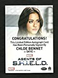 Marvel Agents of SHIELD Season 2 Autograph CHLOE BENNET as Agent Skye Extremely Limited