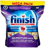 Finish Quantum Max Dishwashing Tablet Lemon 1 Pack(60pcs) AU Stock