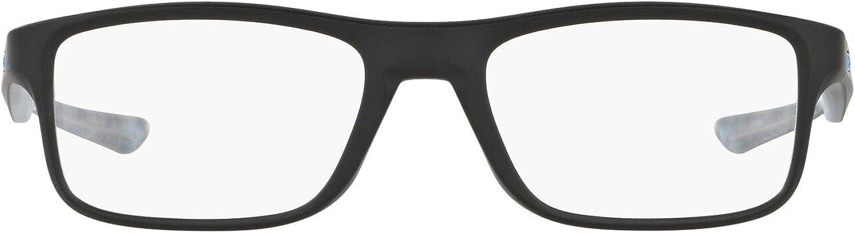 Oakley unisex-adult Ox8081 Plank 2.0 Rectangular Eyeglass Frames Rectangular Prescription Eyeglass Frames