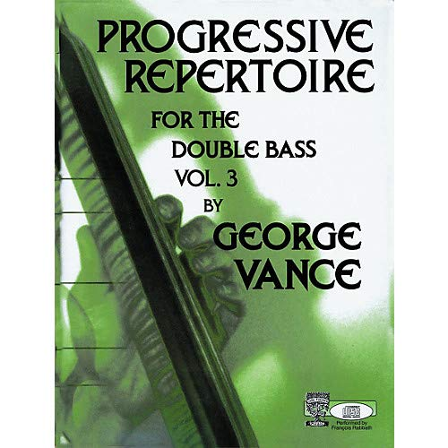 Carl Fischer Progressive Repertoire For The Double Bass Vol. Three Pack of 2