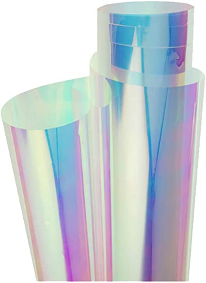 parfait pour anniversaires ou noël! Turquoise Holographique Petit Sac Cadeau