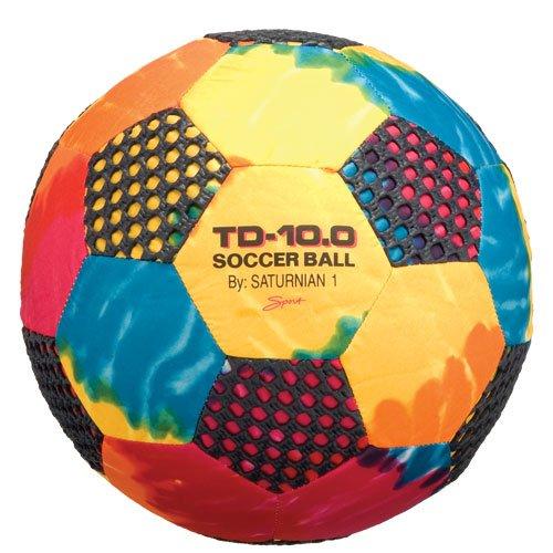 Saturnian I Fun Gripper Soccer Ball, 10-Inch (Dyed Balls)