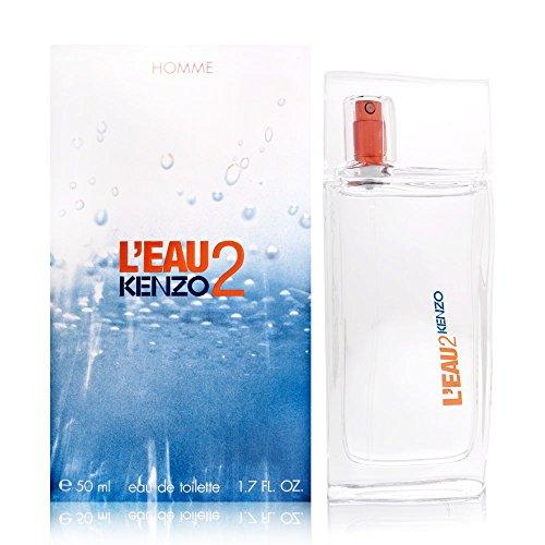 Parfum Leau Kenzo - Kenzo L'eau 2 Eau de Toilette Spray for Men, 1.7 Ounce