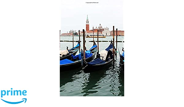 Gondola Parking Lot on the Water in Venice, Italy Journal ...