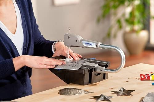Dremel Moto-Saw MS20-1/5 - Sierra de calar estacionaria (70 W, 1 ...