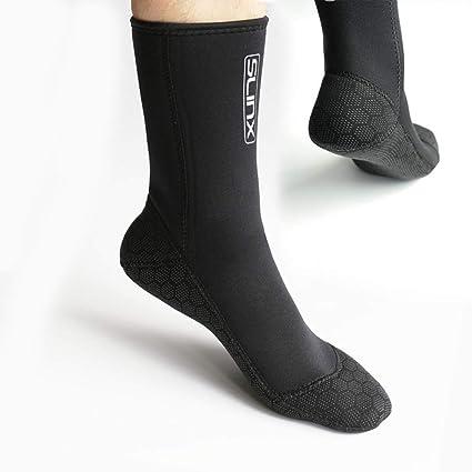 22465bc1a985 DiNeop Neoprene Scuba Socks Diving Wetsuit Booties for Men Women Kids  Youth