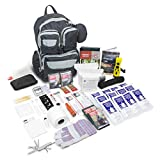 Urban Survival Bug Out Bag 72 Hour Disaster Survival Kit, Emergency Zone (2 Person or 4 Person) for Earthquakes, Hurricanes, Floods, and More. Great Holiday Gift!