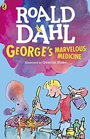book cover of George\'s Marvellous Medicine