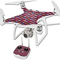 Skin For DJI Phantom 4 Quadcopter Drone – Saltwater Collage | MightySkins Protective, Durable, and Unique Vinyl Decal wrap cover | Easy To Apply, Remove, and Change Styles | Made in the USA