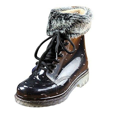 Colore10 per Eleganti Stivali Impermeabile Martin Donna Moda LaoZan e xnpY8azqxw