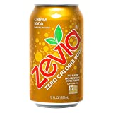 Zevia Zero Calorie Soda, Cream Soda, Naturally Sweetened Soda, (24) 12 Ounce Cans; Cream Soda-flavored Carbonated Soda; Refreshing, Full of Flavor and Delicious Natural Sweetness with No Sugar