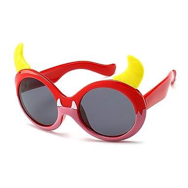 Wang-RX Niños gafas de sol de dibujos animados gafas de bebé ...