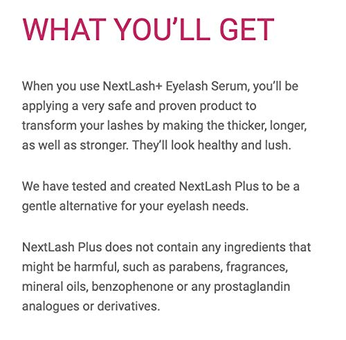 6584f0485fe Biovène Next Lash Plus+ Dramatic Eyelash Serum - Eyelash Growth Serum  Boosts Appearance of Eyelashes - Made With Essential Vitamins + Natural  Extracts ...
