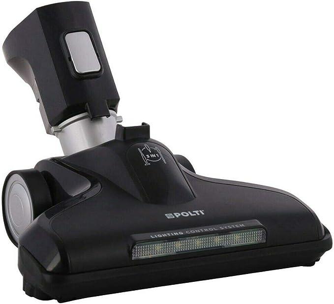 Polti - Cepillo de ruedas con conexión LED para aspirador ...