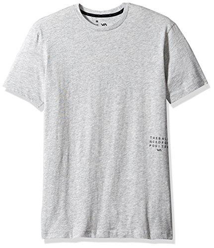 RVCA Men's Balance Block Short Sleeve T-Shirt, Athletic, M