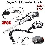 ArtisanShow 3PCS 105 Degree Right Angle Extension
