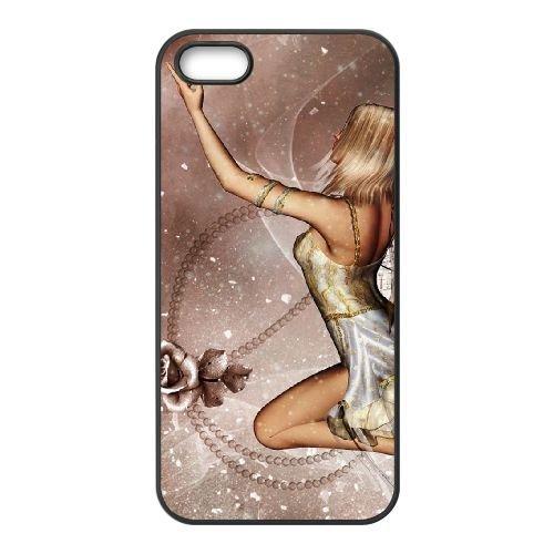 E4B62 belle fille d coque iPhone 4 4s O0W1TM cellulaire cas de téléphone couvercle coque noire DF8MHG8UF