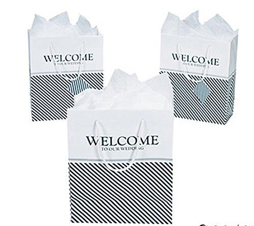 NAUTICAL WELCOME WEDDING gift bags