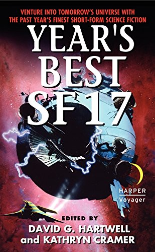 book cover of Year\'s Best SF 17