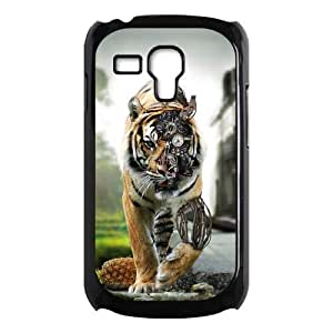 Awesome Tiger Design Framework Cool Hard Case Cover for Galaxy S3 Mini I8190
