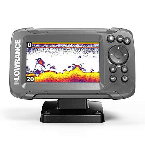 Lowrance HOOK2 4X - 4-inch Fish Finder with Transducer and GPS (Best Fish And Ski Boats)