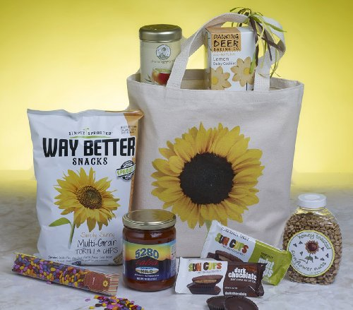 Sunny Side All Natural Gift Basket by It's Only Natural Gifts