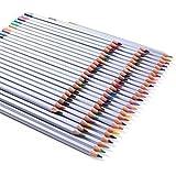 Rixow- 72-Colores Lápices de Colores/ Lápices-Multi Colores para Diseñar, Dibujar, y Bosquejar Creativamente/el Dibujo de Secreto Jardín.