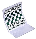 US Chess Checkbook Magnetic Travel Chess Set - by US Chess Federation