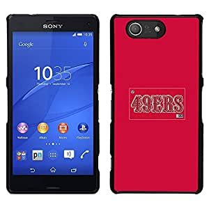 Design for Girls Plastic Cover Case FOR Sony Xperia Z3 Compact 49ERS OBBA