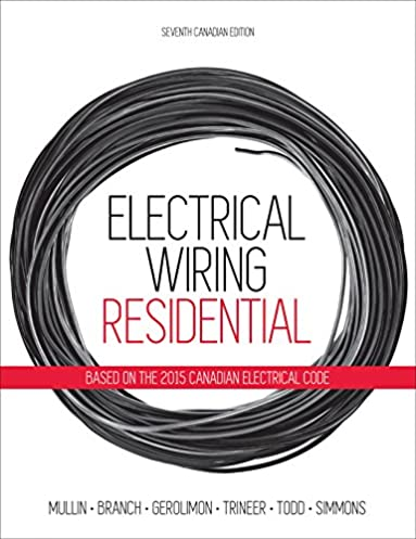 electrical wiring residential ray mullin tony branch sandy rh amazon ca Residential Electrical Wiring for Kitchen Residential Electrical Wiring Diagrams