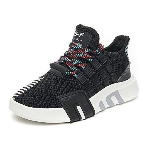 NGRDX&G Calzado Deportivo Mujer Zapatillas Zapatos De Plataforma, Negro, 37 37|Black