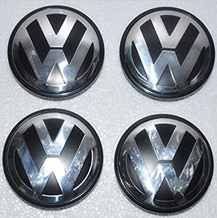 Amazon.com: Ycsm 4 Pcs 76MM Wheel Center Hub Cap For Apply to 04-10 Volkswagen Touareg 16