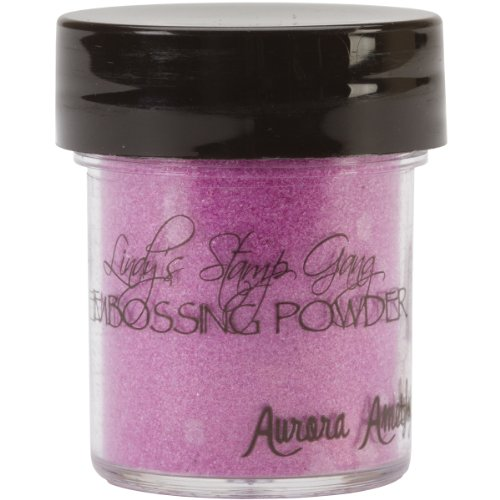 Lindy's Stamp Gang 2-Tone Embossing Powder, 0.5-Ounce, Aurora Amethyst