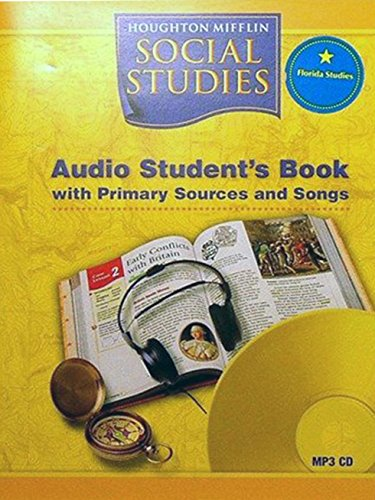 Houghton Mifflin Social Studies Florida: Aud Bk Mp3Orida Level 4