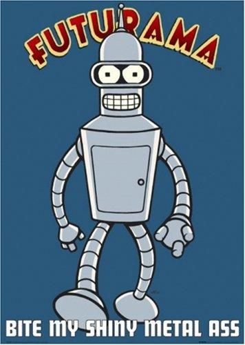 Futurama - TV Show Poster Bender