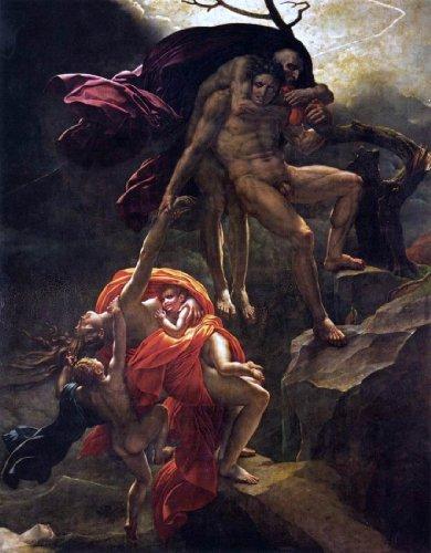 Anne-Louis Girodet De Roucy-Triosson Scene of the Flood - 21