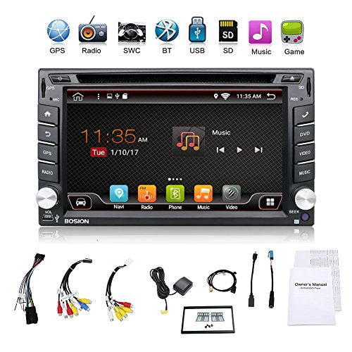 Upgrade Version Wifi Model Qure Core Android 6 0 Double Din Car Dvd Player Stereo Gps Navigation For Universal Car With Free Camera