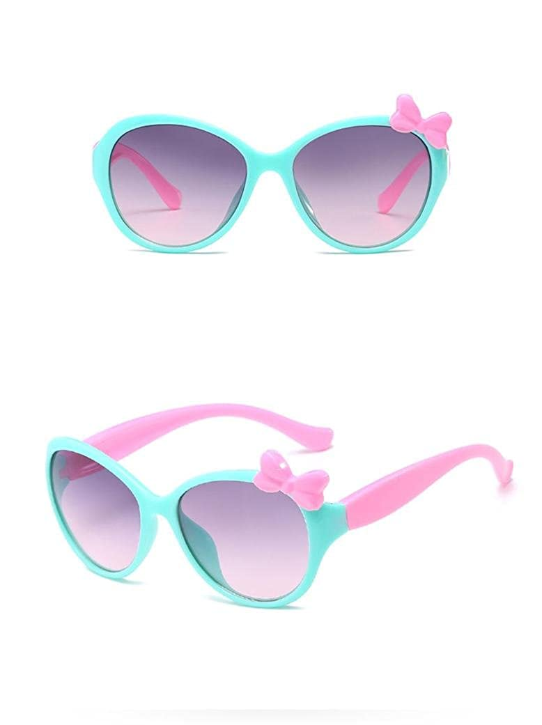 YUYOUG Anti-UV Glasses Cartoon Kids Boys Girls Goggle Baby 8 Color Sunglasses With Bow Children Sunglasses For For Outdoor Sport,Spring Outing,Family Photo Party Favors Cute Gift