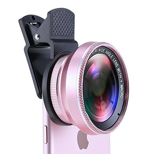 cheap for discount 6dc48 9f9e6 Halolens Selfie Phone Lens 2 in 1 Clip-on Lens Kit 0.6X Super Wide ...