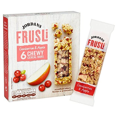 Jordans Cranberry & Apple Frusli Bars - 6 x 30g