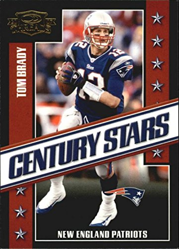 2007 Donruss Threads Century Stars Gold #3 Tom Brady NFL Football Trading Card Patriots